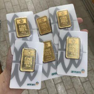 Perbedaan logam mulia UBS dan Antam
